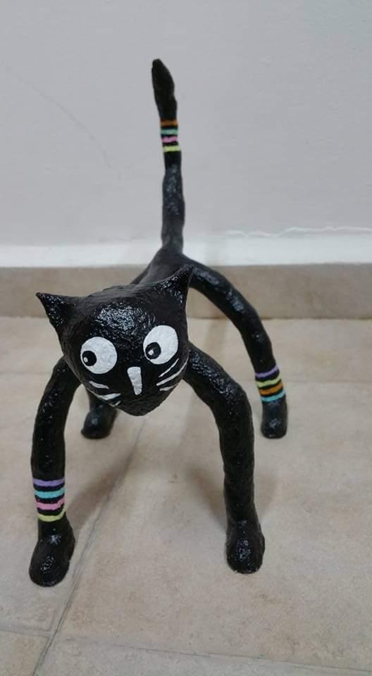 חתול שחור של רחל