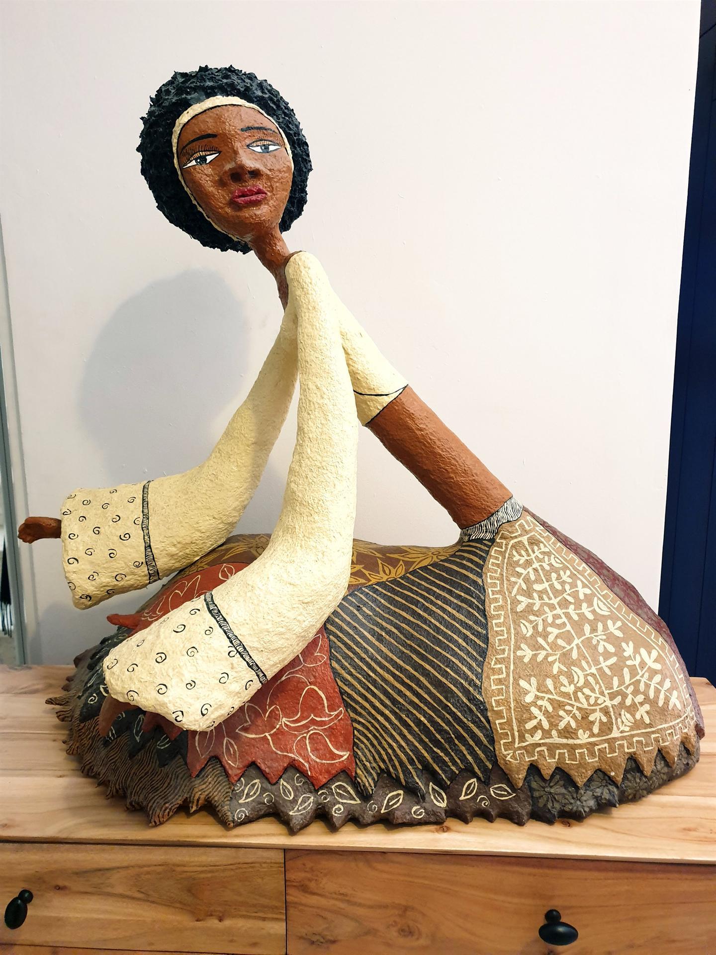 אשה אפריקאית